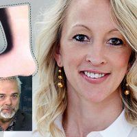 Google chefen Anna Wikland och SwebbTV:s Michael Willgert. Montage: NewsVoice, baserat på pressfoton.