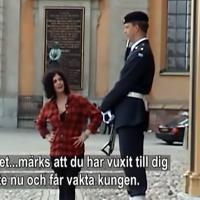 """Bitterfittan """"Ballar av stål"""". Foto: TV5"""