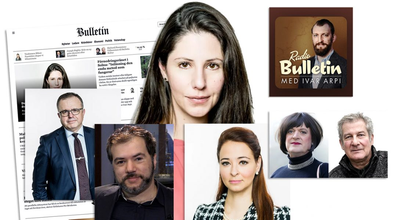Dagstidningen Bulletin lanserades 22 dec 2020. Foton: Karl Gabor och Axess TV. Montage: NewsVoice