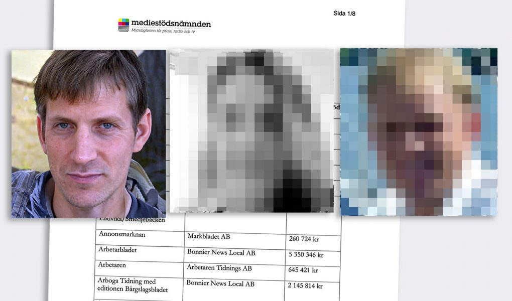 Anders Gustafsson, Kajsa Rohdin och Georg Lagerberg. Foton: Privata. Montage: NewsVoice