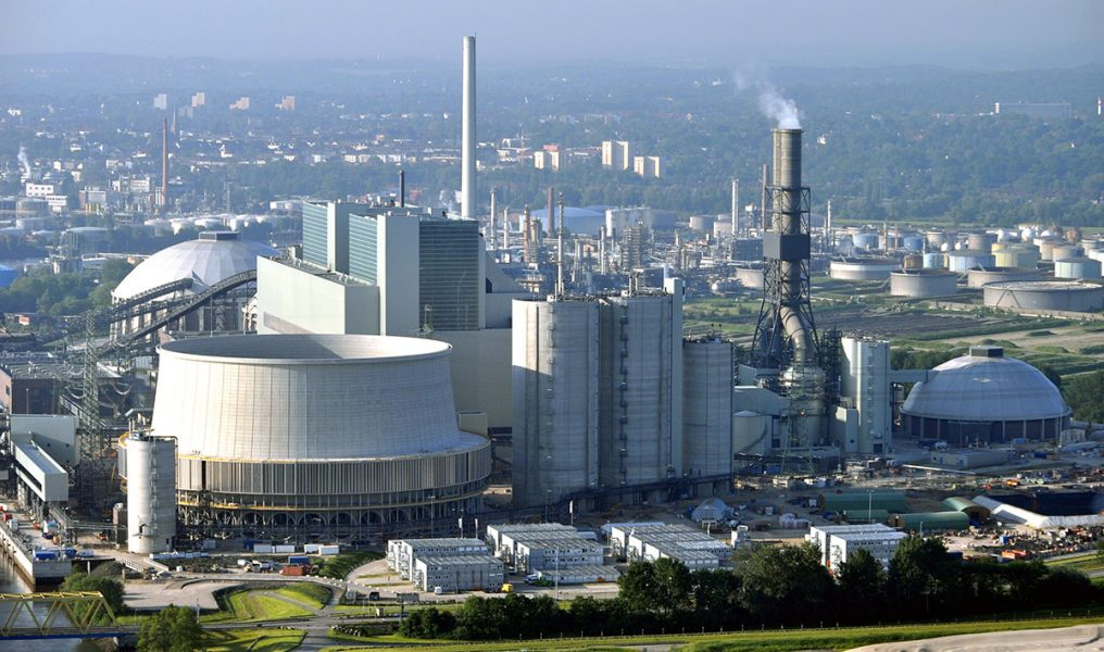 Kolkraftverket i Moorburg (Hamburg). Foto: Ajepbah. Licens: CC-BY-SA-3.0