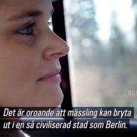 Malin Olofsson, SVT. Foto: SVT Play