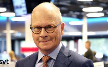 Mats Knutson, inrikespolitisk kommentator på SVT, 2020. Pressfoto: SVT