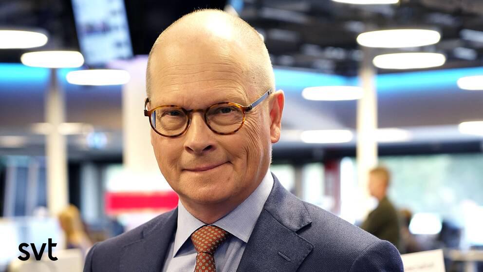 Mats Knutson: Stefan Löfven utnyttjar coronakrisen för att samla mer central makt. Pressfoto: SVT