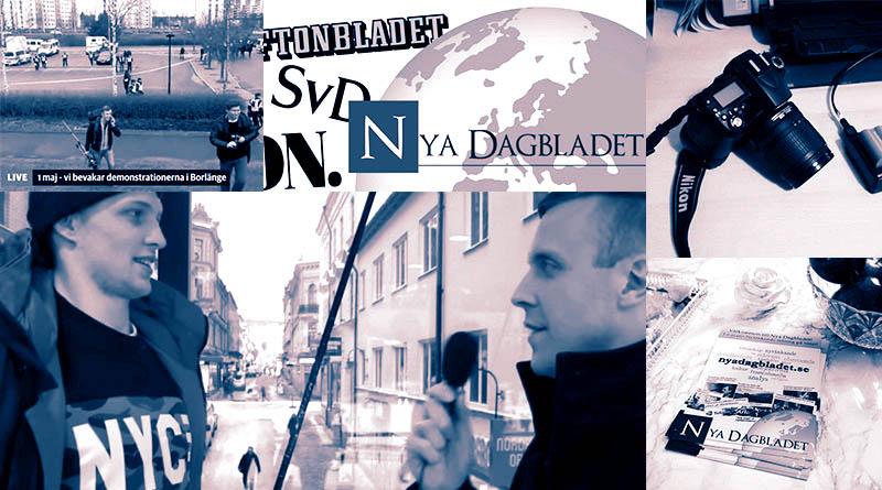 Bildkollage av Nya Dagbladet