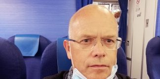 Torbjörn Sassersson i det nya onormala, selfie, 22 aug 2020.