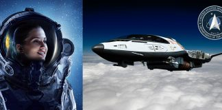The Guardians at the US Space Force. Fictitious montage by NewsVoice.se built on pictures from Shutterstock.com