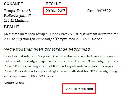 Håkan Axelson ljuger