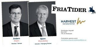 Anders Malm och Björn Wendleby Harvest