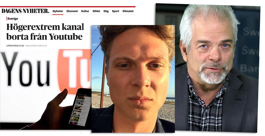 John Falkirk förtalade SwebbTV i DN.