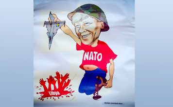 Lars Ohly (V) valde NATO. Licens: Mostphotos.se