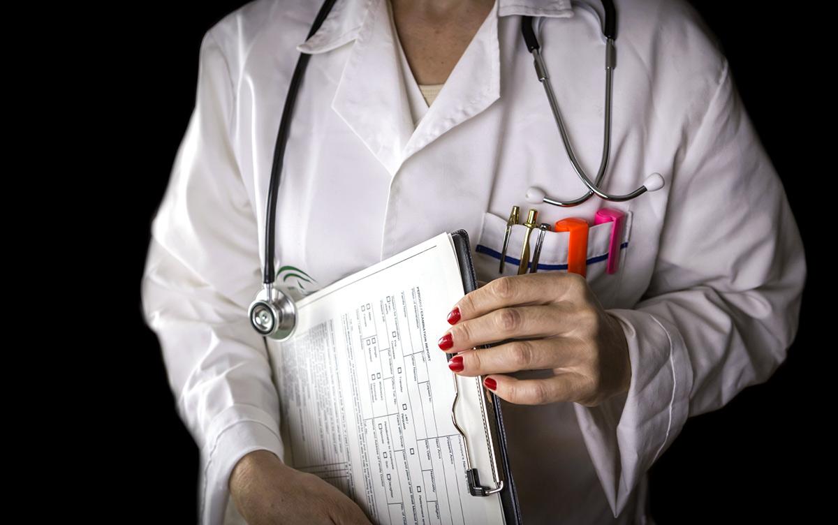 Medicinsk journal. Foto: Felipe Caparros Cruz . Licens: Mostphotos.se