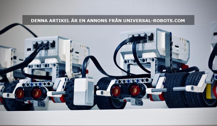 Kollaborativa robotar. Foto: Jelleke Vanooteghem. Licens: Unsplash.com