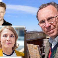 Peter Alestig (pressfoto, SvD.se), Koko Warner (pressfoto: UNFCCC) och Tege Tornvall (eget pressfoto)