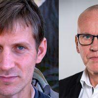 Anders Gustafsson (NewsVoice) och Lars Björkman, Kantar Sifo
