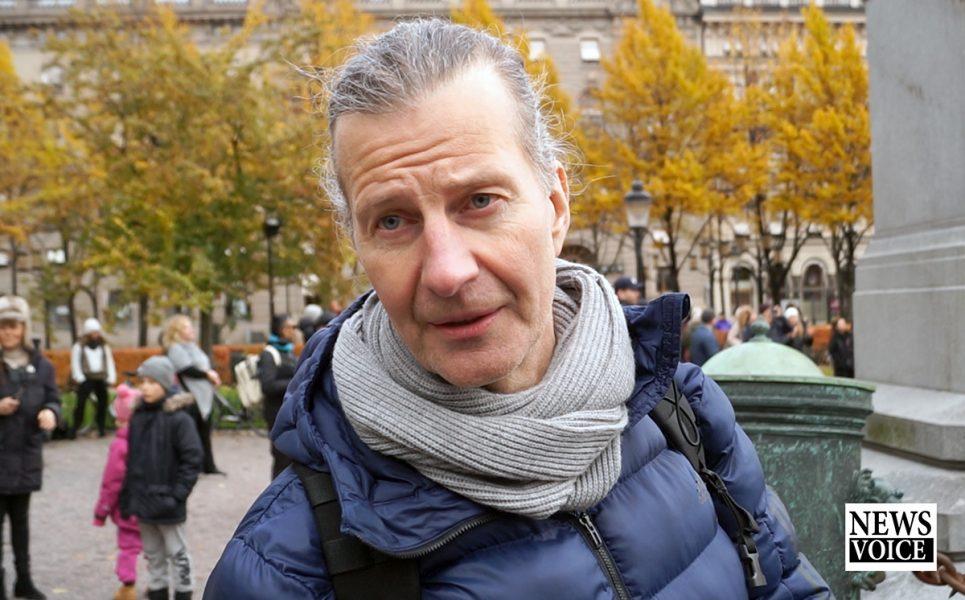 Fd polisen Conny Andersson, 31 okt 2020. Foto: NewsVoice