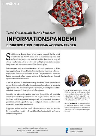 Informationspandemi av Oksanen och Sundbom