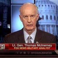 Fd generallöjtnant Thomas Mcinerney, 2017. Foto: Fox News Business