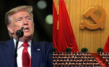 President Donald Trump och Nationella Kongressen, Kinesiska Kommunistpartiet