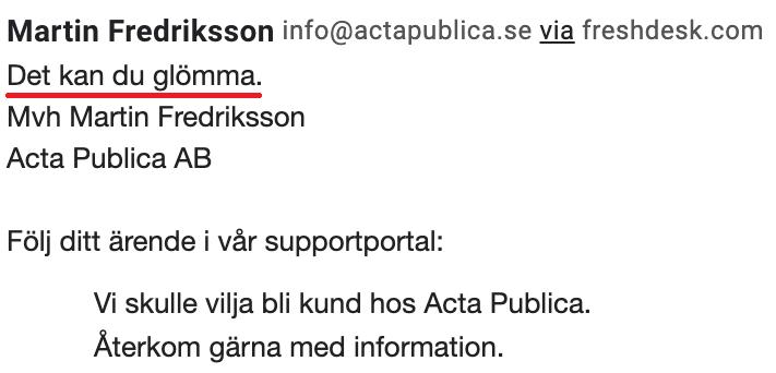 Acta Publica GDPR