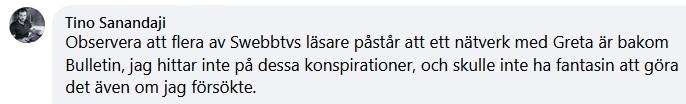 Tino Sanandaji på Facebook.