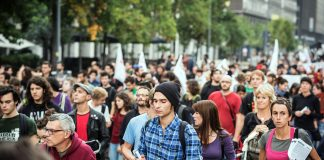 Demonstration. Foto: Eugenio Marongiu. Licens: Mostphotos.se