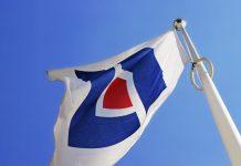 Länsförsäkringars flagga. Pressfoto: Länsförsäkringar AB