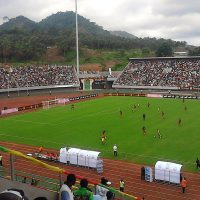 Limbe Stadium, Cameroon. Photo: Eliseandchai, licens: CC BY-SA 4.0