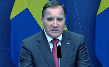 Stefan Löfven, 24 feb 2021. Foto: Regeringen.se