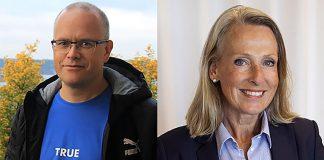 Torbjörn Sassersson (foto: Anna Böhlmark) och Charlotte Ingvar-Nilsson (pressfoto: Arbetsgivarverket.se)