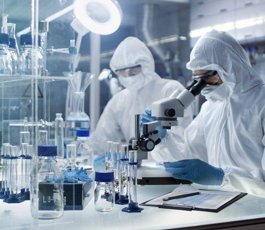 Ett så kallat säkerhetslaboratorium. Foto: Shutterstock.com