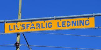 Livsfarlig ledning. Foto och licens: Mostphotos.com