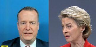 Digitaliseringsminister Anders Ygeman och EU-ordförande Ursula van der Leyen. Foto: SVT resp EU Kommissionen. Montage: NewsVoice