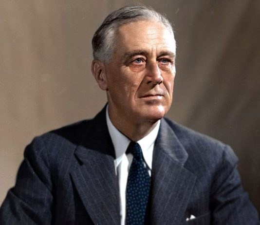 Franklin D. Roosevelt (1933) 1882-1945. Foto: FDR Presidential Library & Museum