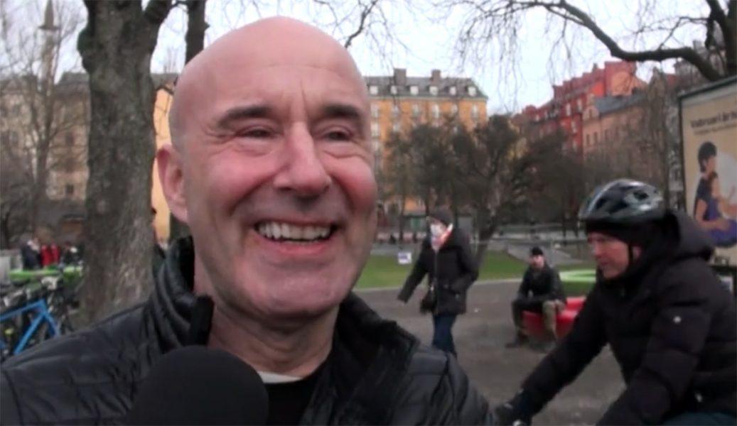 Mark Levengood, 6 mars 2021, Kungsträdgården. Foto: Jesper Johansson