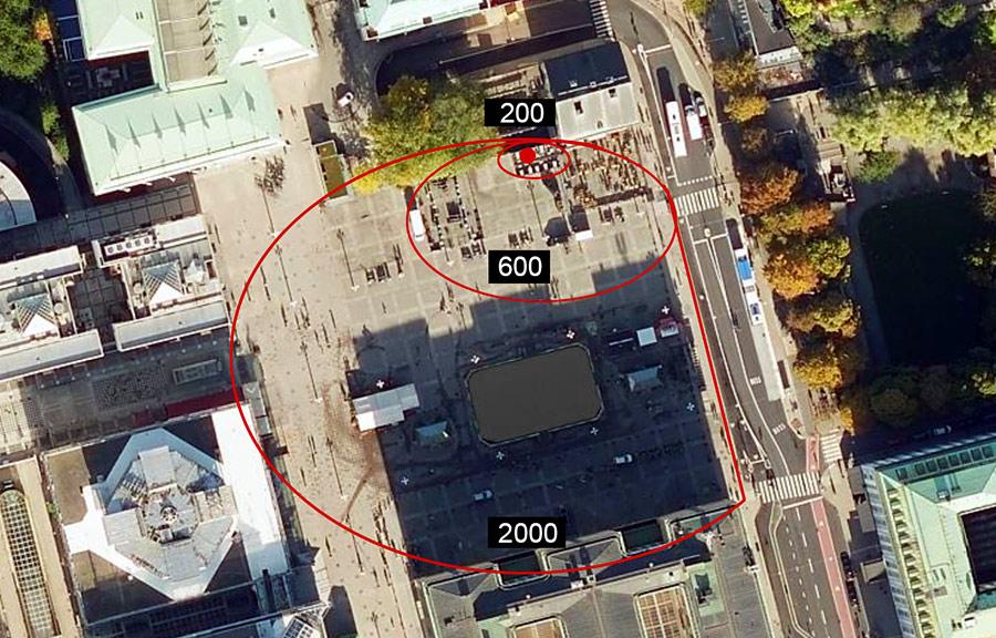 Medborgarplatsen och Tusenmannamarschen 6 mars 2021