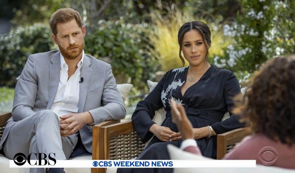 Prins Charles och Megan Markle. Foto: CBS News