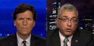 Tucker Carlson och dr Noorchashm. Foto: Fox News