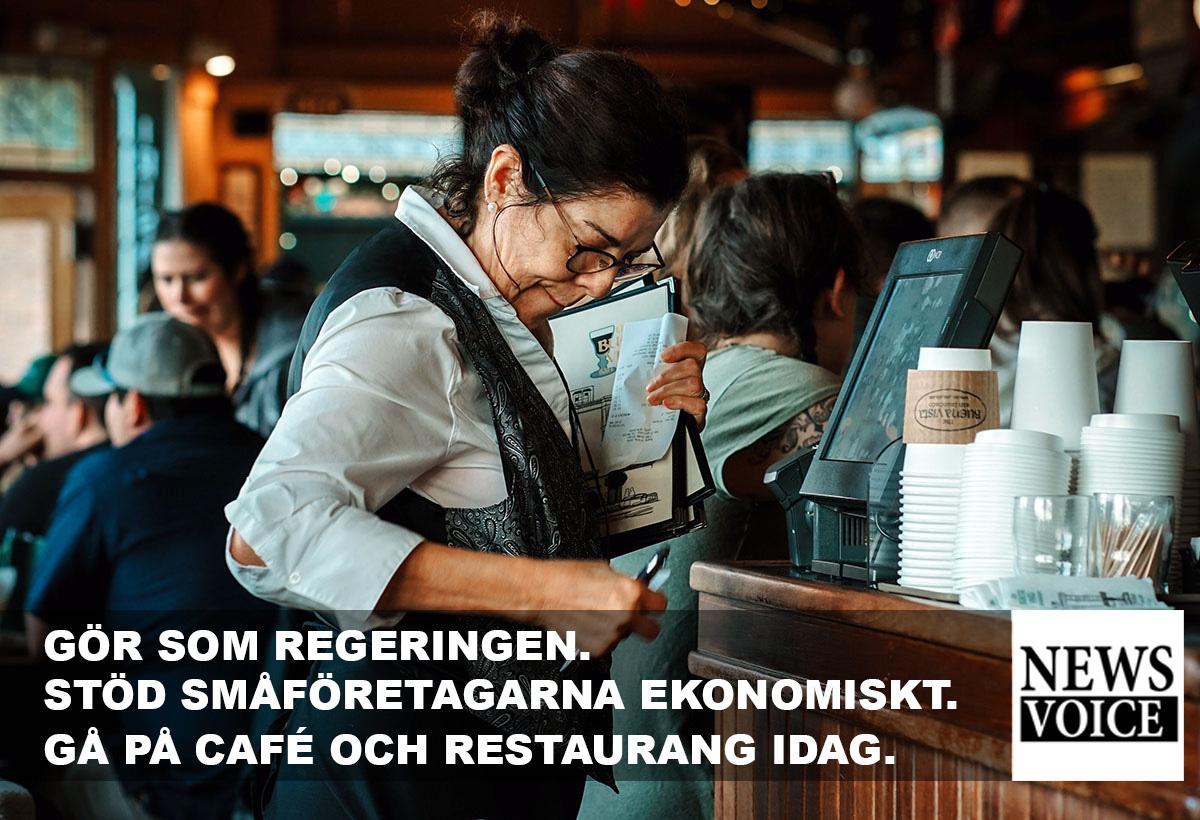 NewsVoice stödjer restauranger och caféer