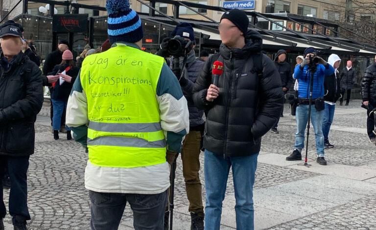 Tusenmannamarschen mars 2021. Foto: FolketsRadio