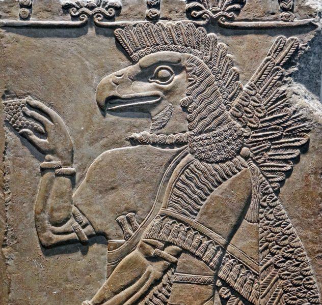 Anunnaki. Foto från British Museum. Licens: Wikimedia