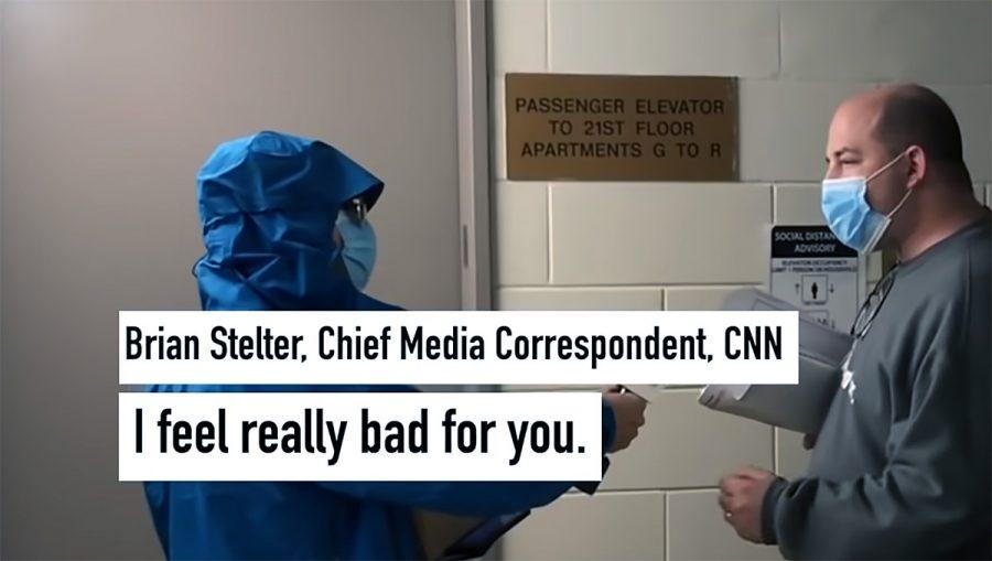 Brian Stelter (chief media correspondent på CNN). Foto: Project Veritas