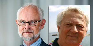 Dan Larhammar och Anders Jensen