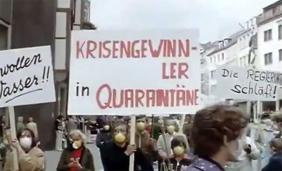 Hamburgsyndromet (1979). Bild från film.