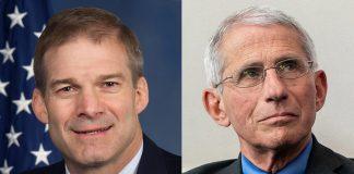 Jim Jordan (foto: Jordan.house.gov) och Anthony Fauci (foto: The White House)