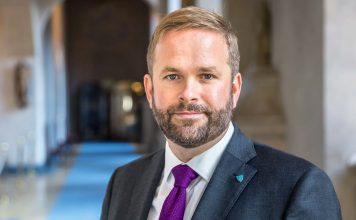 Kulturborgarråd Jonas Naddebo (C)