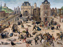 La masacre de San Bartolomé, por François Dubois