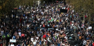 London March To Freedom 25 april 2021. Läsarbild.