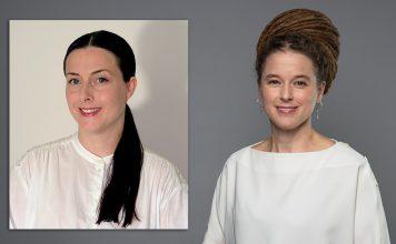 Marielle Martinz och demokratiminister Amanda Lind