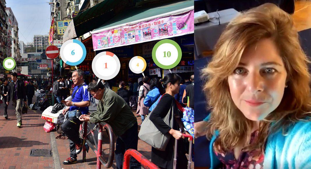Naomi Wolf (eget verk) Kweilin Street Hong Kong. Foto: Sham Shui-Po. Licens. CC-BY-NC-SA-2.0